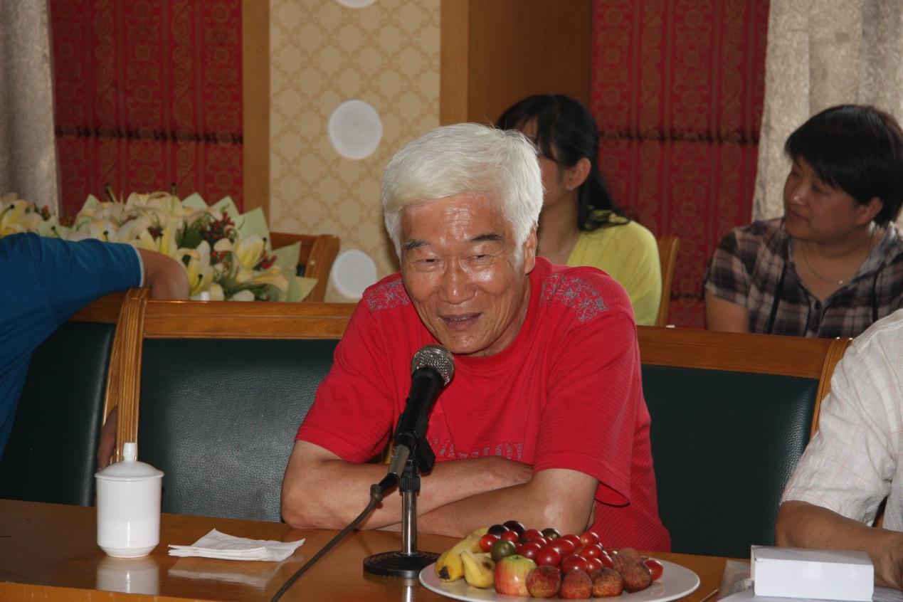 班主任张长林老师发言图片