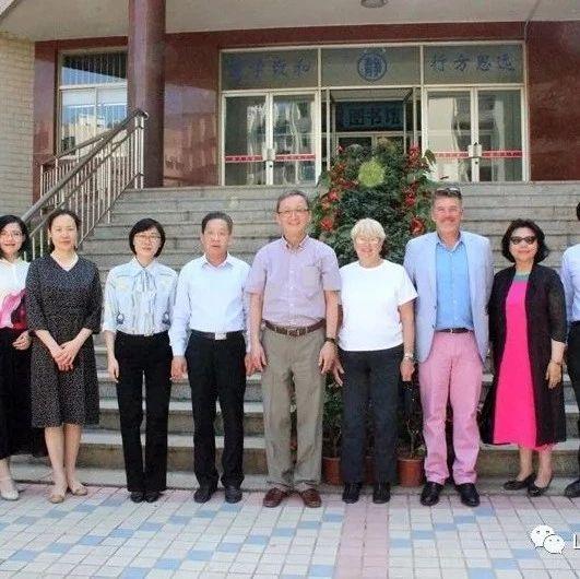 美国中国-康州理事会到山东省实验中学访问交流
