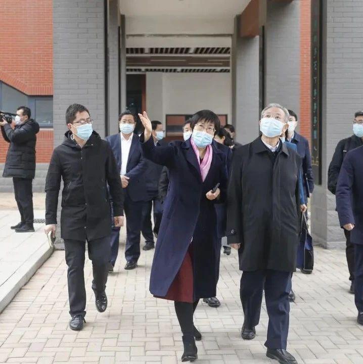 刘家义调研山东省实验中学西校疫情防控、开学复课准备工作